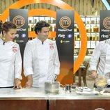 Los jueces de 'MasterChef' cocinando en la presentación de la sexta temporada de 'MasterChef'