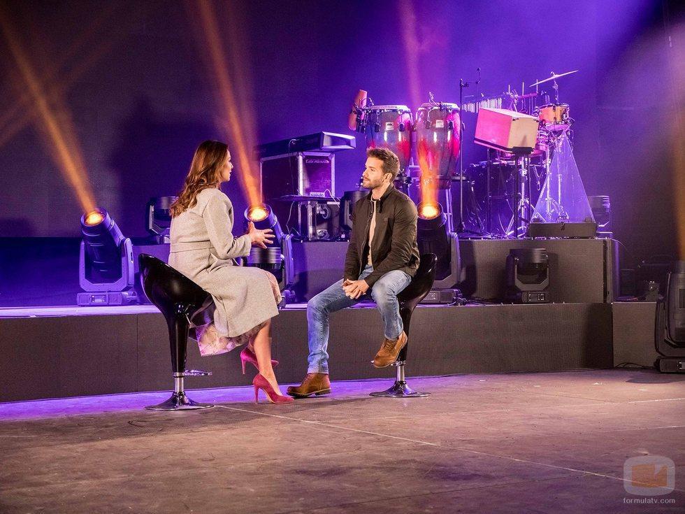 Eva González y Pablo Alborán en la sexta edición de 'MasterChef'