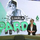 Cristina Pardo en la rueda de prensa de 'Liarla Pardo'
