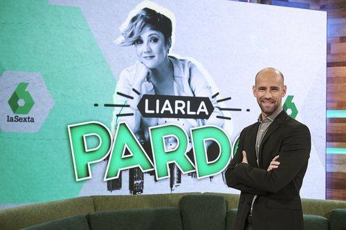 Gonzalo Miró en la presentación de 'Liarla Pardo'