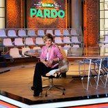 Cristina Pardo en el plató del magacín 'Liarla Pardo'