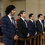 Kerim, Selim, Erdogan y Vural, juntos en el juicio en la segunda temporada de 'Fatmagül'