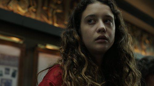 María Pedraza como Alison Parker en el 1x03 de 'La Casa de Papel'