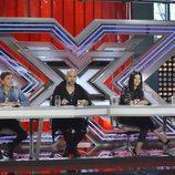 El jurado en el estreno de 'Factor X'