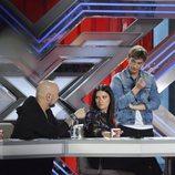 El jurado de 'Factor X' debate durante las audiciones