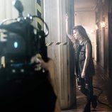 """Miriam Rodríguez ('OT 2017')  en el rodaje de """"Hay algo en mí"""", single inspirado en la serie 'Vis a vis'"""