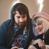 Manuel Huedo y Angy son Kiu y Mireia en 'Bajo la red' en Playz