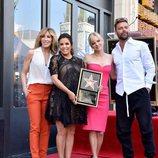 Eva Longoria recibe su Estrella en el Paseo de la Fama junto a Felicity Huffman, Anna Faris y Ricky Martin