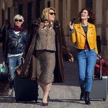 Paquita Salas, Virginia Rodríguez y Lidia San José en la segunda temporada de la serie
