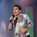 Miguel Cadenas actuando en una gala de 'OT 3'