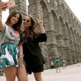 Las Salazar en Segovia durante la cuarta temporada de 'Los Gipsy Kings'