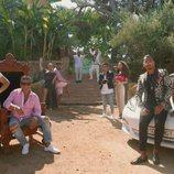 Los Fernández Navarro al completo posan para la cuarta temporada de 'Los Gipsy Kings'