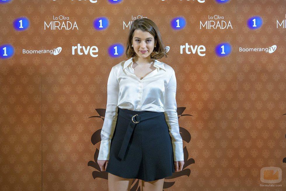 Paula de la Nieta en la presentación de 'La otra mirada'