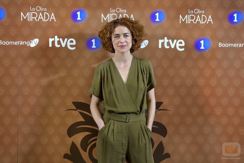 Patricia López Arnaiz en la presentación de 'La otra mirada'