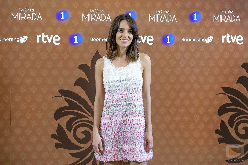 Macarena García en la presentación de 'La otra mirada'