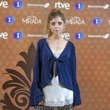 Lucía Diez en la presentación de 'La otra mirada'