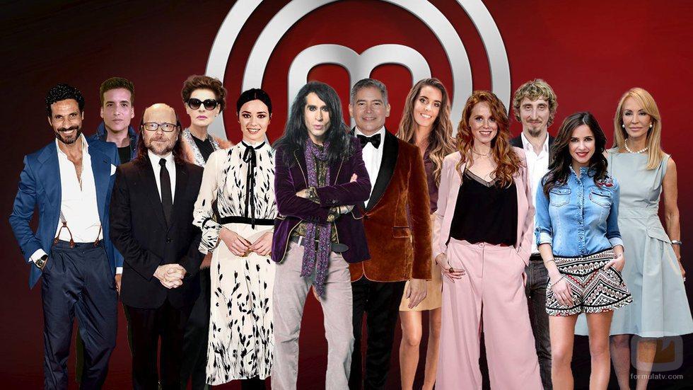 Concursantes de la tercera edición de 'MasterChef Celebrity'