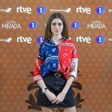Abril Montilla en la presentación de 'La otra mirada'