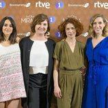 Macarena García, Ana Wagner, Patricia López Arnaiz y Cecilia Freire en la presentación de 'La otra mirada'