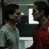Denver y Berlín se encaran en el 1x06 de 'La Casa de Papel'
