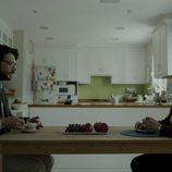El Profesor y Mariví toman café en el 1x09 de 'La Casa de Papel'