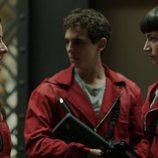 Mercedes habla con Tokio y Río en el 1x09 de 'La Casa de Papel'