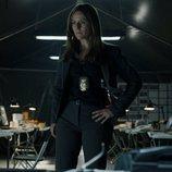 La inspectora Murillo pensativa en el 1x08 de 'La Casa de Papel'
