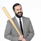 Antonio Castelo posa para la tercera temporada de 'CCN: Comedy Central News'