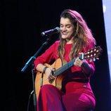 Amaia cantando en la ESPreParty 2018