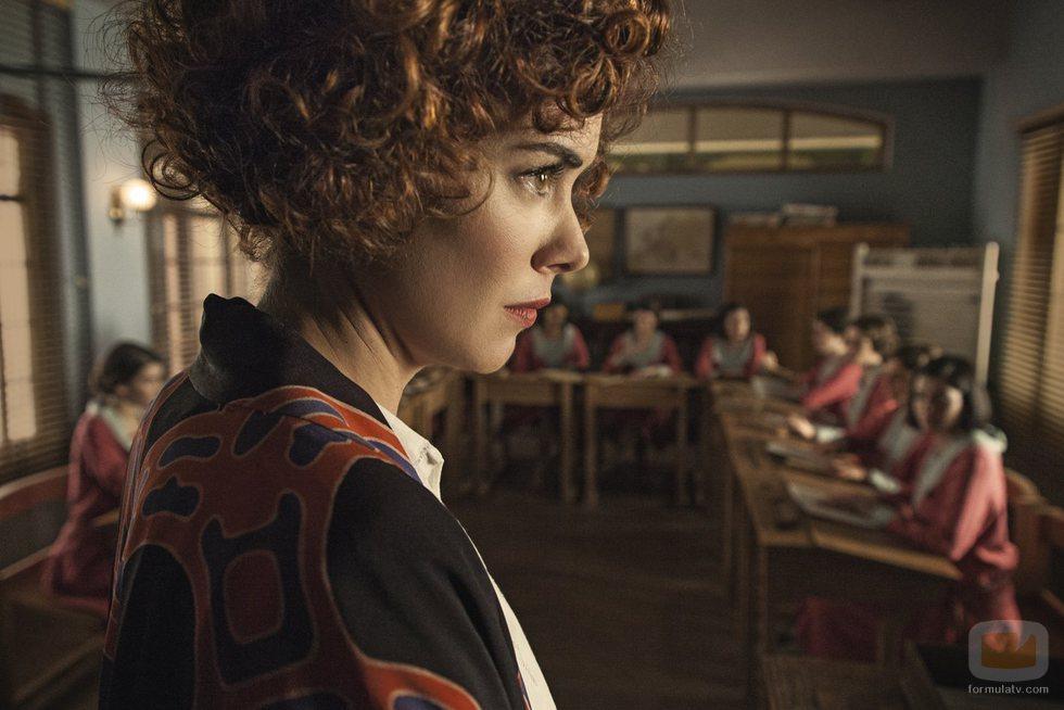 Patricia López Arnaiz inerpreta a una de las profesoras de 'La otra mirada'