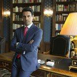 Emmanuel Esparza posa como Alberto Guzmán en 'Secretos de Estado'