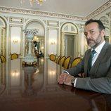 José Luis García Pérez posa como Gutiérrez Casas en 'Secretos de Estado'