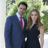 Emmanuel Esparza y Miryam Gallego son Alberto Guzmán y Ana Chantelle en 'Secretos de Estado'