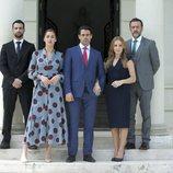 Jesús Castro, Michelle Calvó, Emmanuel Esparza, Miryam Gallego y José Luis García Pérez en 'Secretos de Estado'