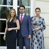 Miryam Gallego, Emmanuel Esparza y Michelle Calvó en 'Secretos de Estado'