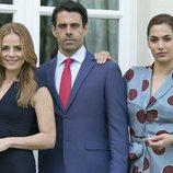 Miryam Gallego, Emmanuel Esparza y Michelle Calvó protagonizan 'Secretos de Estado'