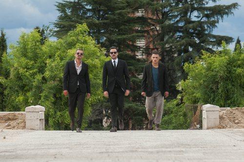 Los hermanos Guerrero durante la primera temporada de 'Gigantes'
