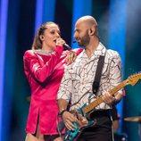 Eye Cue, representantes de Macedonia en Eurovisión 2018, en el primer ensayo