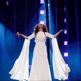 Gianna Terzi, representante de Grecia en Eurovisión 2018, en el primer ensayo