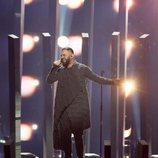 Sevak Khanagyan, representante Armenia en Eurovisión 2018, en el primer ensayo