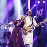 The Humans, representantes de Rumanía, en su primer ensayo de Eurovisión 2018