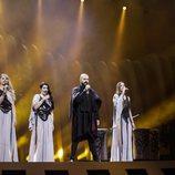 Sanja Ilic & Balkanika, representantes de Serbia, en su primer ensayo de Eurovisión 2018