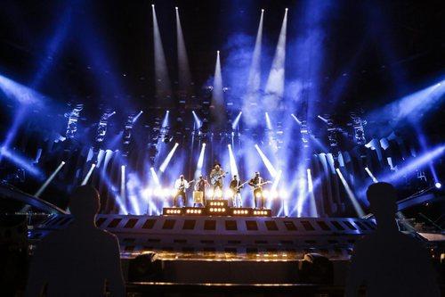 Waylon, representante de Paises Bajos, en su primer ensayo de Eurovisión 2018