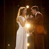 """Alfred y Amaia cantan """"Tu canción"""" en su primer ensayo en Eurovisión 2018"""