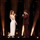 Amaia y Alfred, juntos en el escenario de Eurovisión 2018