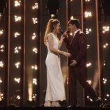 Amaia y Alfred se juntan en su primer ensayo en Eurovisión 2018