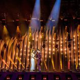 Primer ensayo de Amaia y Alfred (España) en Eurovisión 2018