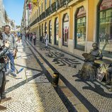 Amaia y Alfred pasean por Lisboa, sede de Eurovisión 2018