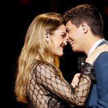 Amaia y Alfred, muy cariñosos en el segundo ensayo de Eurovisión 2018