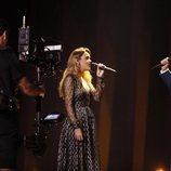 Amaia y Alfred en el segundo ensayo de Eurovisión 2018